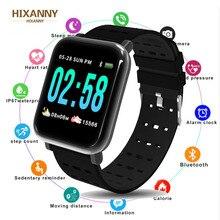A6 Smart Watch Men Women Heart Rate Monitor Sport Fitness Tracker Blood Pressure Waterproof Smartwatch Clock IOS Android Reloj