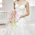 Коралловый Розовый Пион Букет Невесты Капли Воды, искусственный Цветок Кристалл Бабочка Свадебный Букет невесты, свадьба Цветочный Декор
