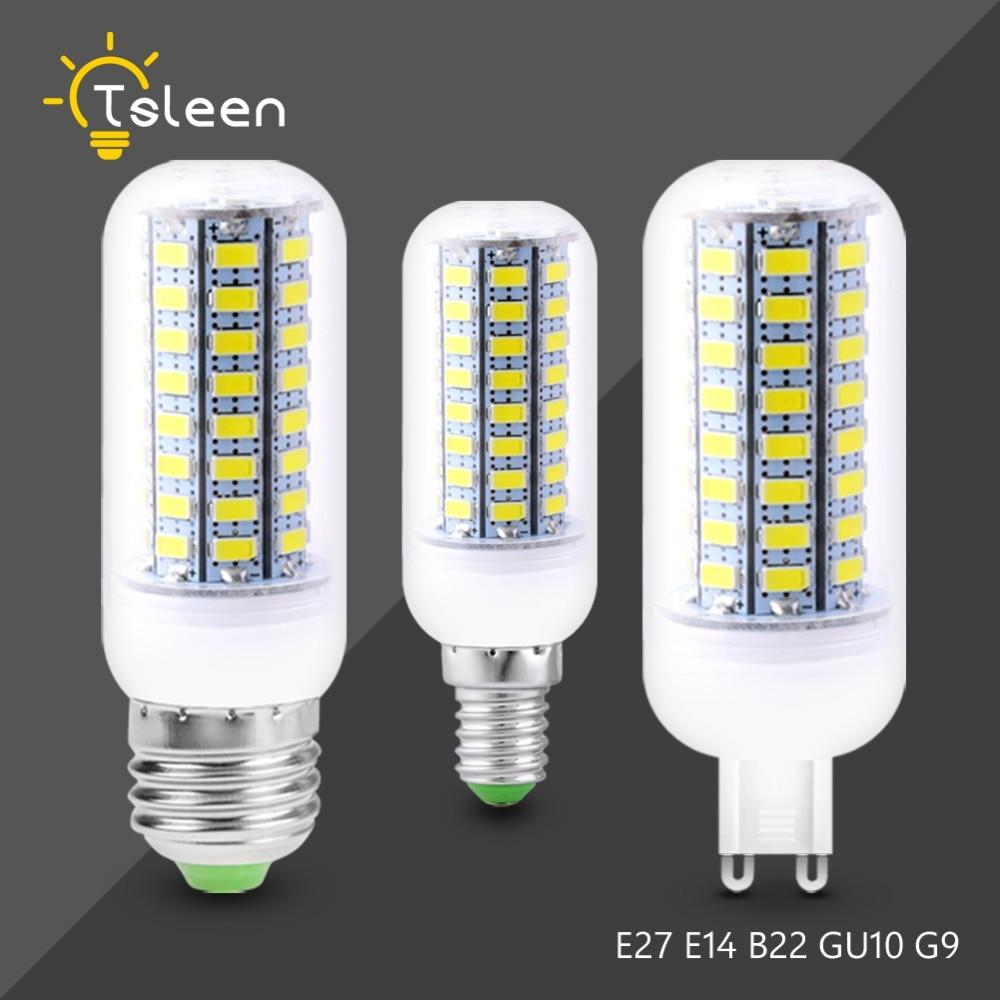 12w Led Bulb 16w Corn Lamp Ac90v To 260v E27 E14 Bulb For Chandelier Table Lamp Energy Saving Lighting Home Led Bulbs Light Bulbs