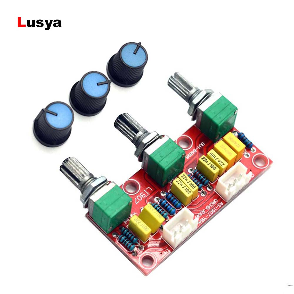 HIFI Amplifier Pre-amplifier Passive Tone Board Bass Treble Volume Control  Preamp Board E3-001