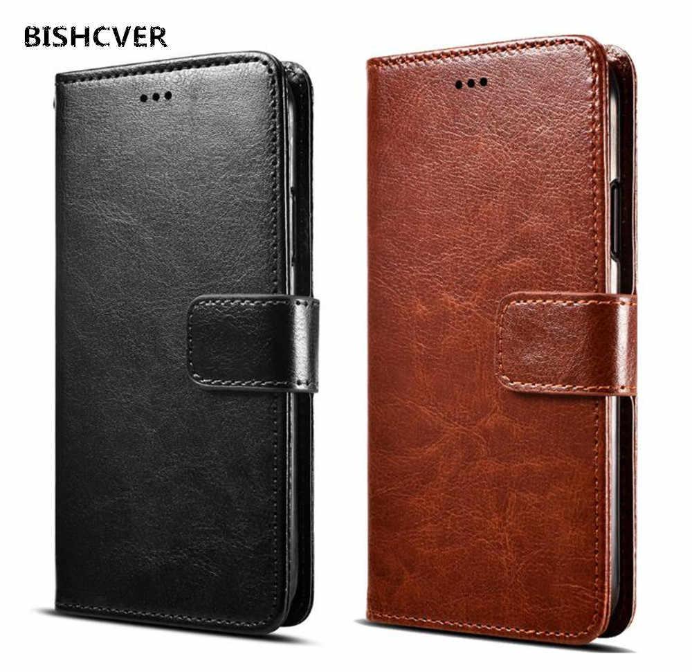 purchase cheap 8a6e8 9e7fd Pu Leather Case Wallet Cover For Tecno Camon 11 X (CA7) X Pro i Sky 2 Twin  160 iClick2 11S i4 iAce 2 2X Flip Book Cover