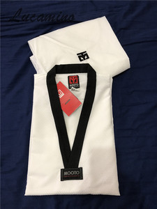 Image 2 - Süper hafif Taekwondo Dobok Mooto Taekwondo eğitmen giyen yüksek hızlı kuru Ultra hafif eğitim üniforma nefes üniformaları