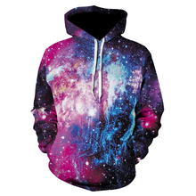 Space Galaxy Hoodies 3d Sweatshirts Men&Women Hoodie Print Star Nebula Couple Tracksuit Autumn Winter Hooded Hoody Tops Clothing