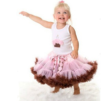 SOSOCOER Baby Girls Skirts New 2017 Summer Pettiskirts Tutu Bow Kids Princess Skirt For Dance High