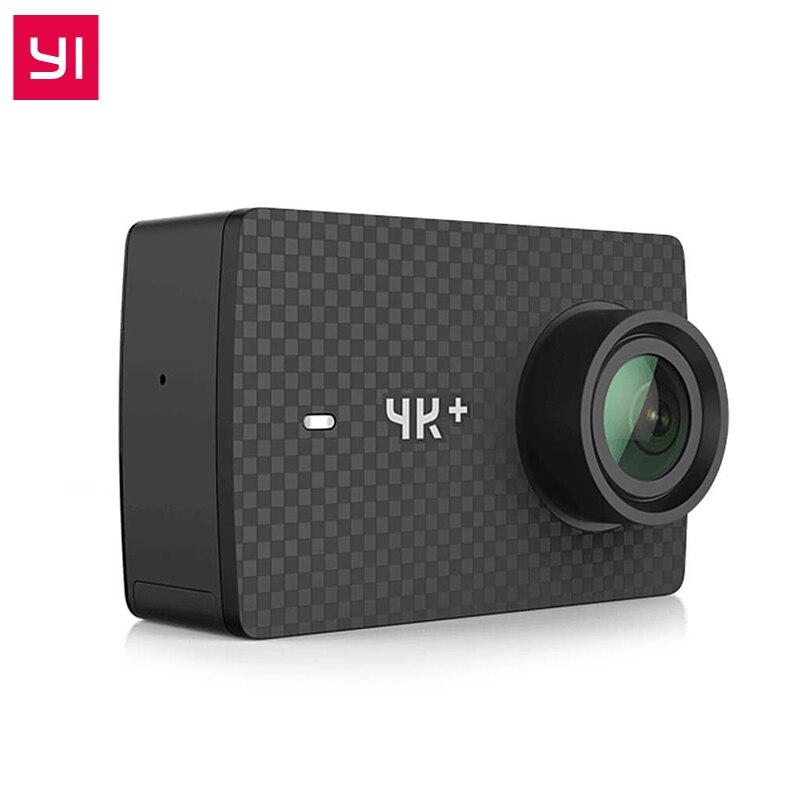 Оригинальный YI 4 К ПЛЮС Действие Камера 2,19 'Ambarella H2 для SONY IMX377 12MP 155 градусов 4 К Ультра HD YI 4 К + Спорт действий Камера