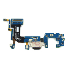 цена на High quality Charging Port Dock USB Connector Flex Cable For Samsung Galaxy S8 G950U Charger Port Connector Replacement Parts