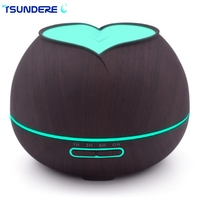 TSUNDERE L Humidifier Aromatherapy Oil Diffuser Essential Oils For Aromatherapy Diffusers Lily Wood Humidifier For Household