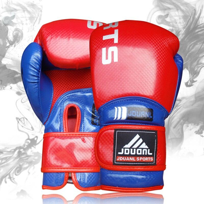 Doreza boksi me cilësi të lartë 10oz e zezë e kuqe blu e kuqe - Veshje sportive dhe aksesorë sportive - Foto 6