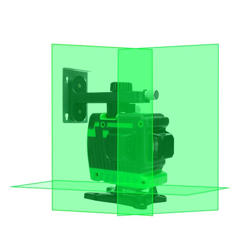 New  Green laser level  12 line labeler level high intensity light floor level