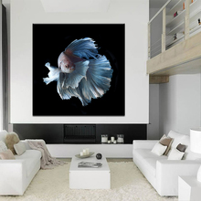 Abstract Animal Betta fish Canvas HD Prints Pictures Wall Art Posters Paintings Home Decor For Living Room Apartment Frame Mural