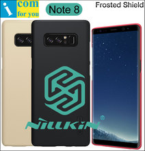 Nillkin Frosted Cover Case For Samsung Galaxy Note 8 Note8 Back Hard Plastic Protective Shell Shield