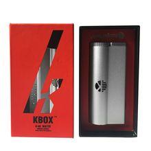 100% auténtico kanger kbox 40 w caja mod potencia ajustable 18650 batería sub ohm mod vapor mod ajuste para subtank kanger atomizador yy