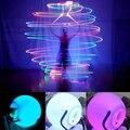 1 Peça Performance de Palco LED POI Bolas Lançadas para o Nível de Mão Adereços de Dança Do Ventre Acessórios de Dança Do Ventre