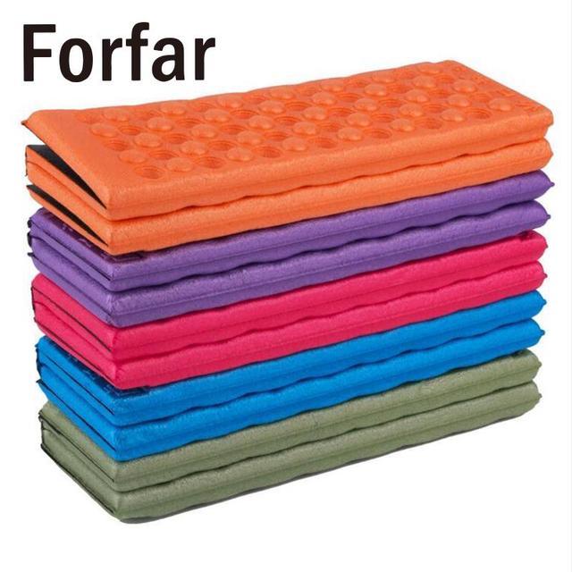 Outdoor Folding Mat Camping Picnic Pad Seat Foam Waterproof Cushion Sleeping inflatable mattress Camping beach mat