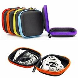 Мини-наушники с «молнией» LINSBAYWU, чехол для наушников, сумка для хранения, защитный usb-кабель, органайзер, портативная коробка для наушников