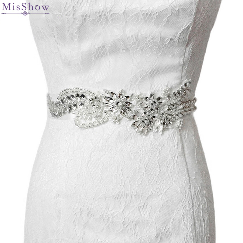 Wedding Gown Belts And Sashes: 2018 Crystal Belts For Wedding Dresses Wedding Belts And