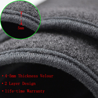 xukey коврик с рельефом dashmat крышка приборной панели козырек от солнца шахматная доска ковровые покрытия для Тойота Королла э140/Е150 2006 2007 2008 2009-2013