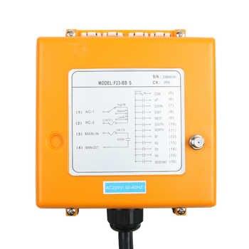 F23-BB Industrial Wireless Radio remote controller switch 1 receiver+ 1 transmitter speed control Hoist Crane Control Lift Crane