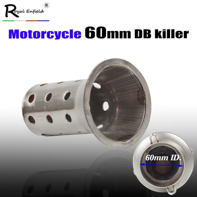 db killer 60mm  60mm silencer Universal 60mm Motorcycle Exhaust Muffler DB killer ...