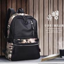 Brand KAKA Korean Style Fashion Men and Women Backpacks Waterproof Nylon School 14″ Laptop Backpacks for Teenage Girls Black bag