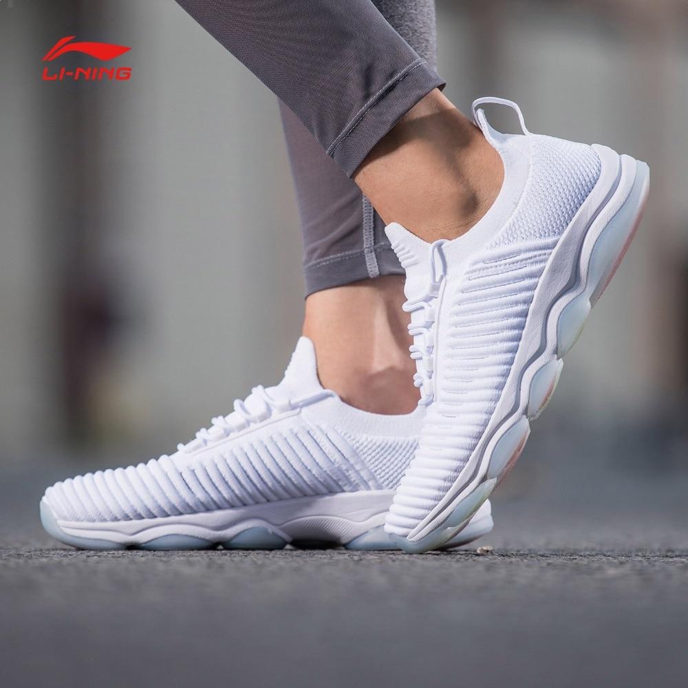 Li Ning Women GO MASTER Cushion Training Shoes Mono Yarn LiNing RunningBreathable Fitness Sports Shoes Wearable