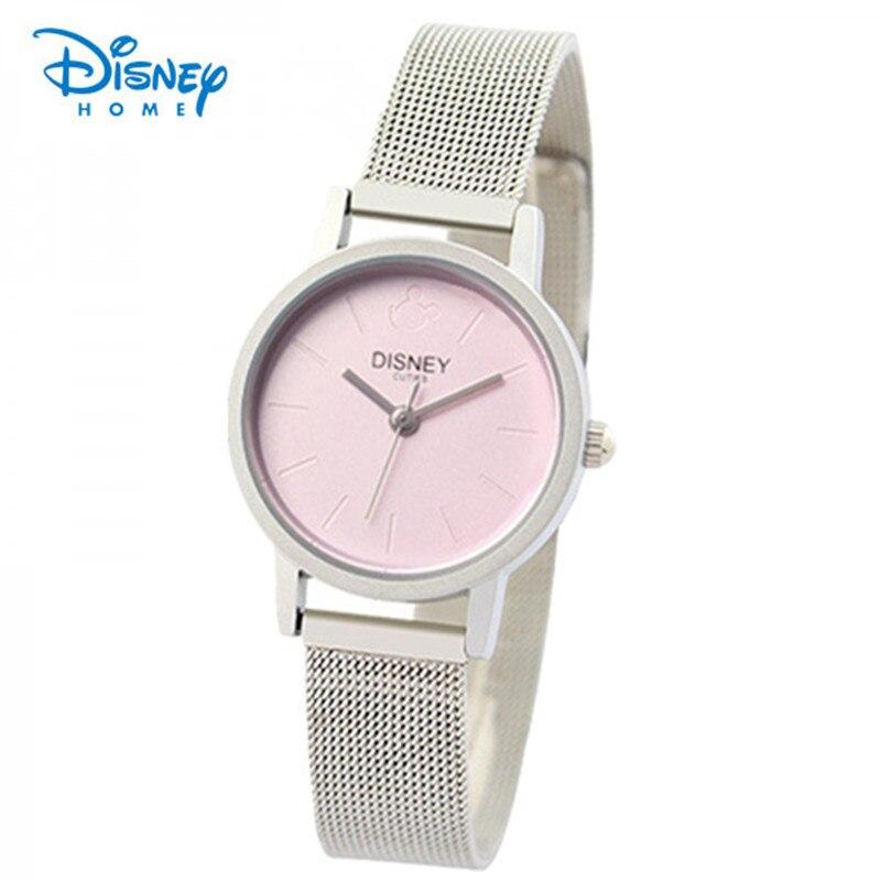 100% Genuine Disney Ladies Watch watches luxury brand women dress watches quartz casual steel watches