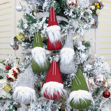 2019 Navidad 1PC Christmas Faceless Doll Plush Tree Home Decor Ornaments New Year Hanging Decorations Gifts for Kids