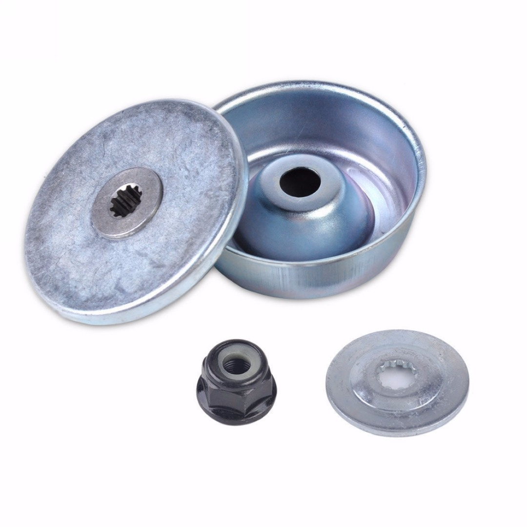 Mayitr Collar Nut Rider Plate Thrust Washer Gear Box Head Accessories Fit For FS120 FS200 FS250 New new arrival mayitr grass trimmer gear box head replacement for fs130 fs120 fs110 fs100 fs90 fs85 fs80