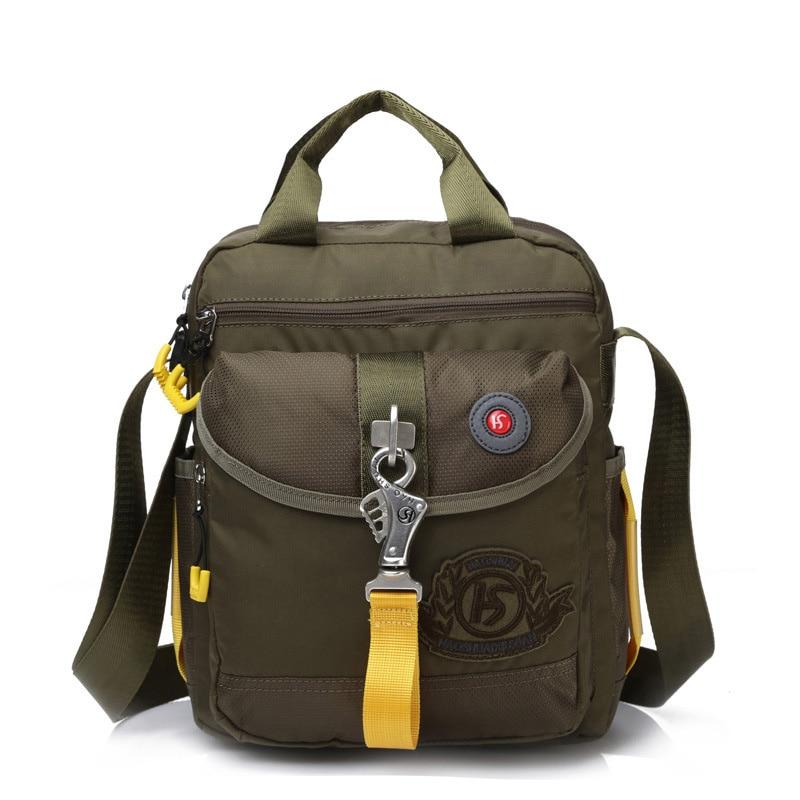 Nylon Men Tote Purse Sling Cross Body Bag Handbag Purse Travel Fashion Casual Pouch Male Top Handle Shoulder Messenger Bags