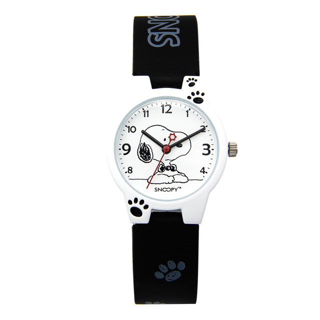 buy popular 1f792 774d4 US $39.9 |Alibaba グループ | AliExpress.comの 子供用時計 からの  スヌーピー子供腕時計子供腕時計男の子漫画ストラッ ...
