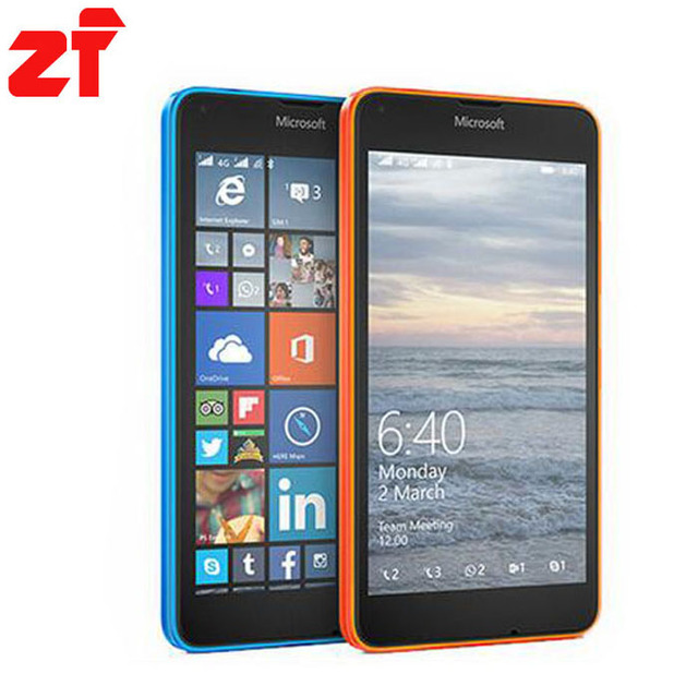 """Оригинальный Microsoft Lumia 640 640 xl сотовый телефон 8MP Quad-core 8 ГБ ROM 1 ГБ RAM мобильный телефон LTE FDD 4 Г 5.0"""""""