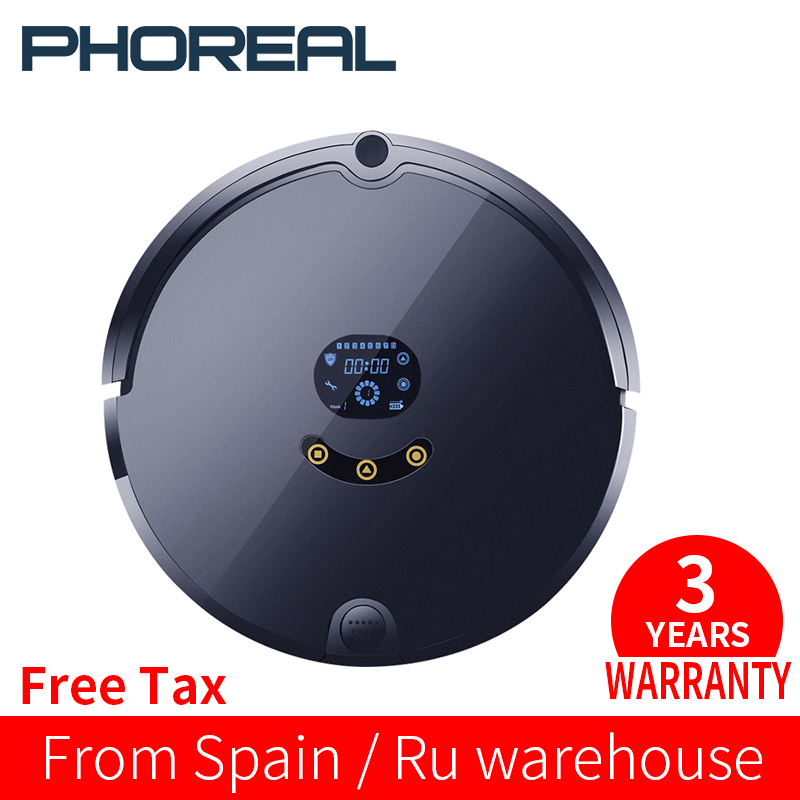 PhoReal FR S Planned Route Robot Vacuum Cleaner wifi Robotic Vacuum Cleaner Auto Rechargeable For Home