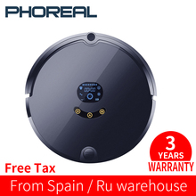 PhoReal FR-S запланированный маршрут робот пылесос wifi робот пылесос Авто Перезаряжаемый для дома