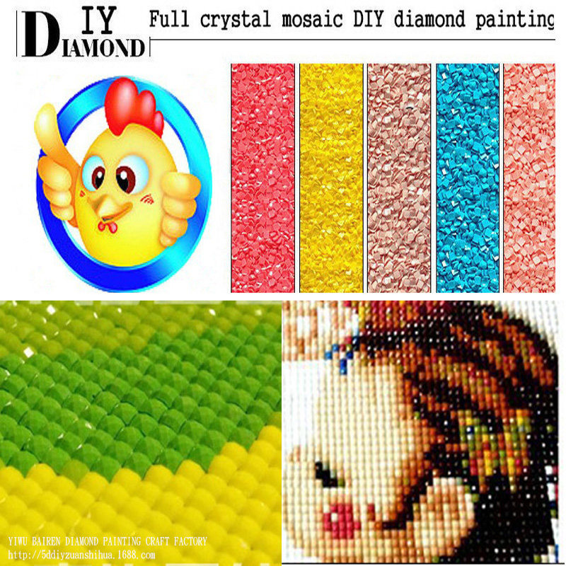 CNA 5D DIY Diamond Paiting Beach Beauty girl girl Rhinestone Drill - Umjetnost, obrt i šivanje - Foto 3