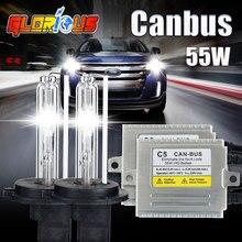 Kit Canbus H7 xenon light kit de Alta calidad 12 v 55 W AC C5 canbus Xenon hid kit H7 6000 K xenon hid kit canbus