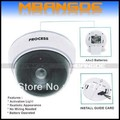 Wireless Fake dummy dome camera  LED Surveillance Security Camera Free Shipping