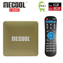 Amlogic S905X Android Smart OTT TV Box Quad Core MECOOL HM8 Mini PC KODI 17.0 Wifi 4K Media Player 3D Home Movie Set Top Box