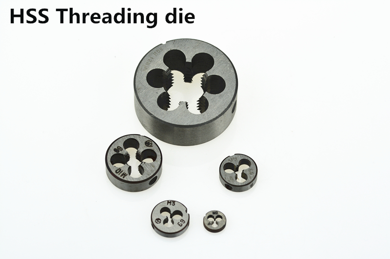 1pc HSS Machine M30 X 2mm Plug Tap and 1pc M30 X 2.0mm Die Threading Tool
