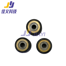 цена на Hot Sale!!!Paper Pressure Rollers For Roland Rubber Pinch Roller Wheel Cutting Plotter Spare Parts