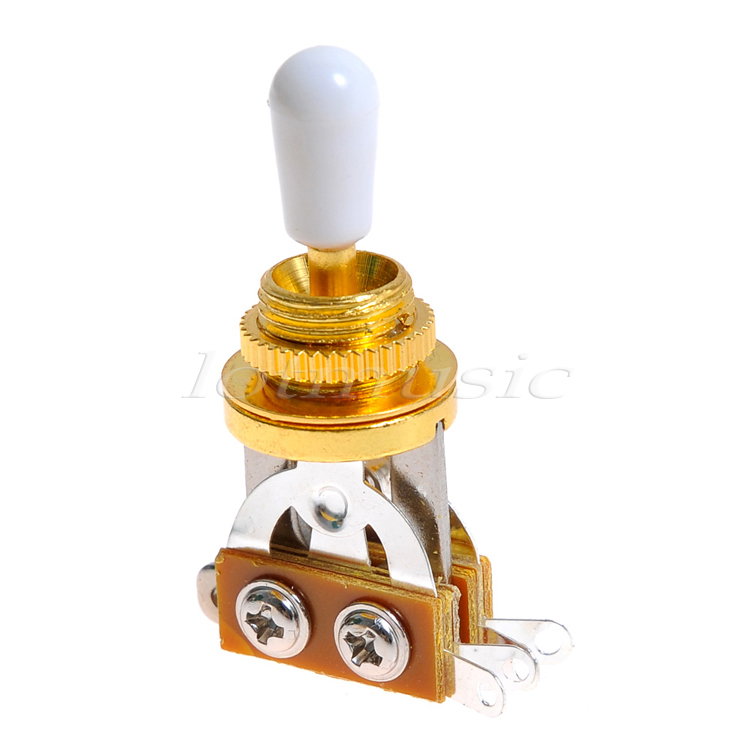 Cool Jem Wiring Diagram Tiny Bulldog Security Wiring Regular Electric Guitar Jack Wiring Installing A Remote Start Youthful Strat Hss Wiring YellowWww Bulldog Com Aliexpress.com : Buy 10pcs Gold Guitar 3 Way Toggle Switch Pickup ..