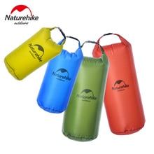 Naturehike 5L 10L 20L 30L 20D Нейлон легкий Водонепроницаемый сумка открытый дрейфующих Дайвинг Одежда заплыва Кемпинг альпинизмом сухой мешок