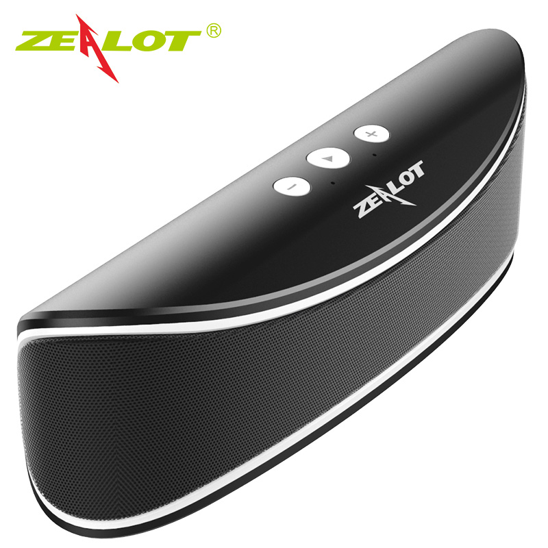Zealot S2 Hifi Portable Bluetooth 4.0 Wireless Speaker Support TF card/USB Drive Car Party Speaker Sound System 3D stereo Music