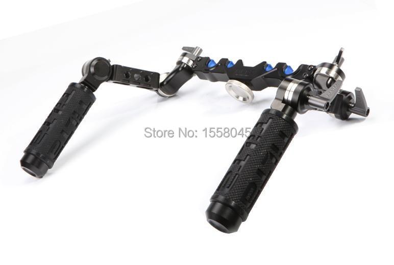 Tilta UH-T03 DSLR Universal HandgRIP for 15mm rod rail system shoulder mount Rig/Free shipping tilta uh t03 dslr universal handgrip for 15mm rod rail system shoulder mount rig free shipping