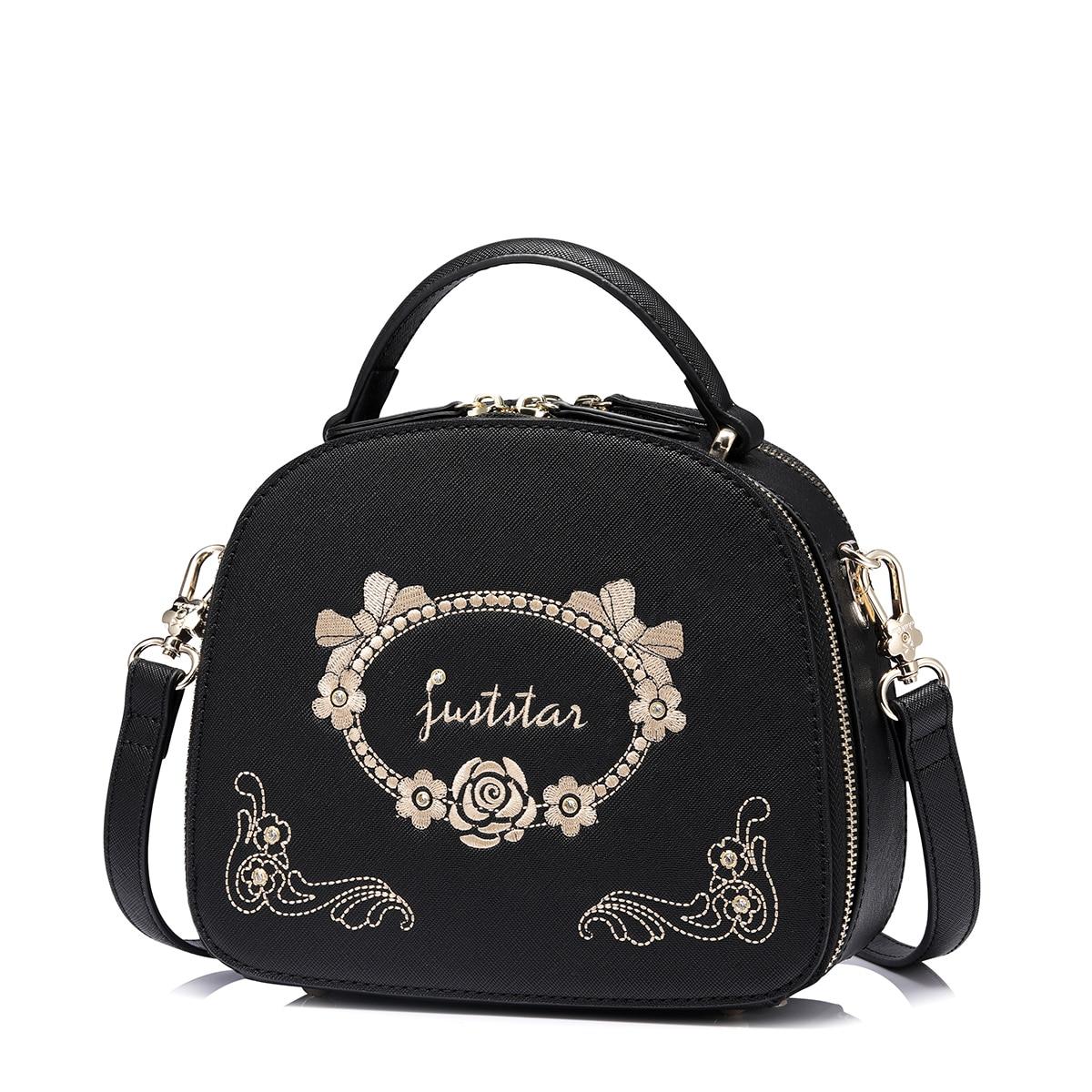 купить Luxuriant Embroidery Messenger Bag Flower Handbag Ladies Small Crossbody Bags Women Famous Brands Designers Shoulder Bags Girls по цене 2975.57 рублей