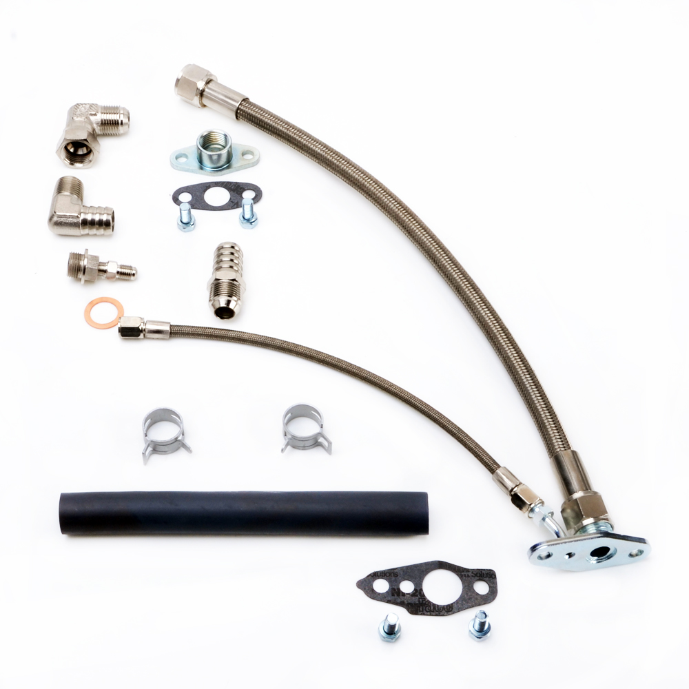 Kinugawa Turbo Oil Feed and Return Line Kit for TOYOTA 3S-GTE 3SGTE Rev 1 & 2 MR2 w/ CT26