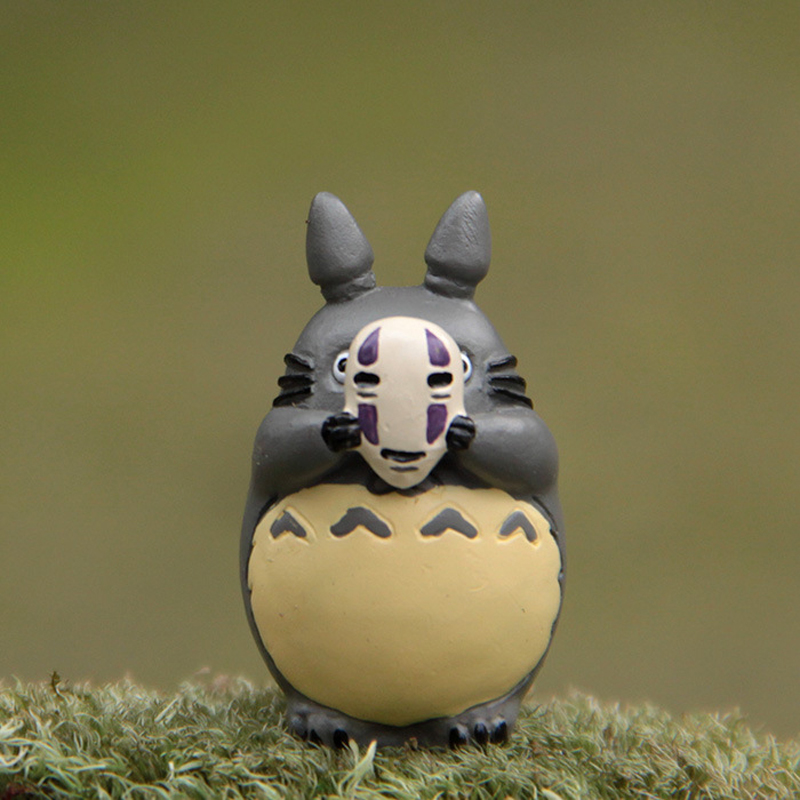 Hot Studio Ghibli Miyazaki Hayao My Neighbor Totoro Cosplay No Face Men Figure Toy Totoro PVC Action Figure Collection Model Toy