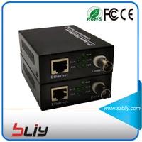 10 100M 1 BNC To Rj45 Port IP Extender CCTV HD IP Video Extender EOC Slave
