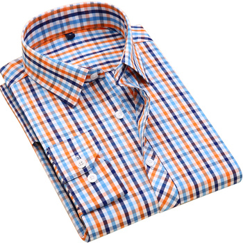 Plaid Casual Leisure Social Shirts