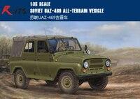 RealTS En Plastique Modèle Kit modèle de Trompettiste 02327 1/35 Soviétique UAZ-469 Tout-Terrain Véhicule