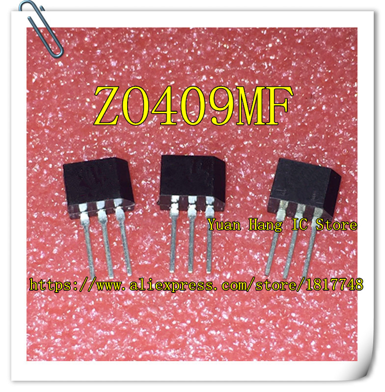 10pcs/lot ZO409MF <font><b>Z0409MF</b></font> Z0409 TO-202 600V/4A/0.2W Triac image